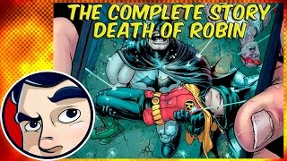 Batman INC Death of Robin - Complete Story