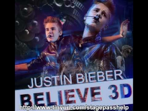 Backstage pass to Justin Bieber