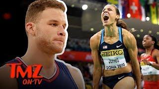 Super Hot Track Star Slams Blake Griffin's Dating Skills! | TMZ TV