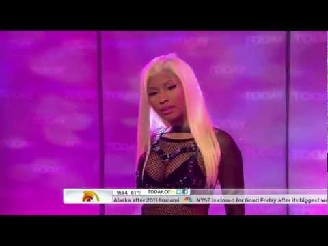 Nicki Minaj - Right By My Side (Live on Today 04-06-2012) [HD]