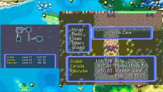 Pokemon mystery dungeon blue rescue team wish cave full run