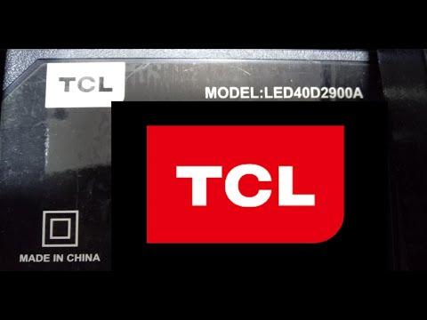 Темные пятна на экране телевизора TCL   LED40D2900A