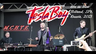 Tesla Boy - M.C.H.T.E. (live in New Holland, SPb, Russia, 2013)