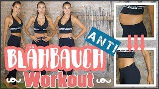 FLACHER BAUCH Workout - Blähbauch bekämpfen mit SOFORT EFFEKT - Bauch weg Tipps