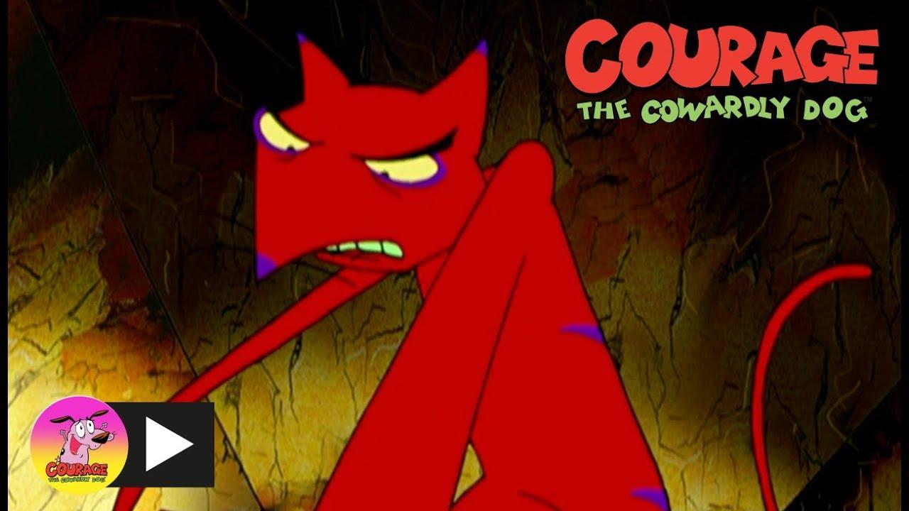 courage the cowardly dog cajun fox