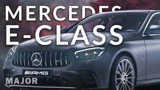 Mercedes Benz E Class 2021 премиальный седан!  Подробно О Главном