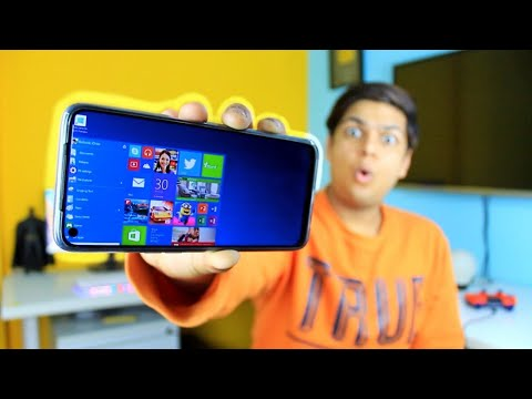 How To Install Windows 10/8/7/XP On Your Android Phone !