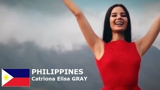 PHILIPPINES - Catriona Elisa GRAY - Contestant Introduction: Miss World 2016