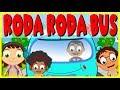 Roda Roda Bus | Wheels On The Bus in Indonesian | Lagu Anak Anak | Kumpulan MP3
