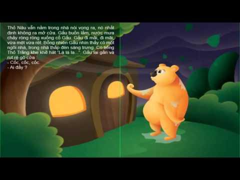 Chuyện bác gấu và hai chú thỏ - KỂ CHUYỆN BÉ NGHE