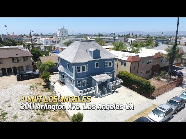 [Virtual Tour]  4 Unit in Los Angeles l 2011 Arlington Ave, Los Angeles CA