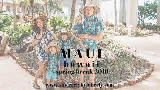 Hyatt Regency Maui is a family playground OCEAN & POOLS! || Spring Break 2019  || & GoPro