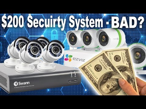 SWANN vs EZVIZ Home Security Camera System - Best 2018 Review & Demo
