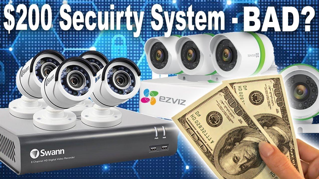 SWANN vs EZVIZ Home Security Camera System - Best 2018 Review & Demo