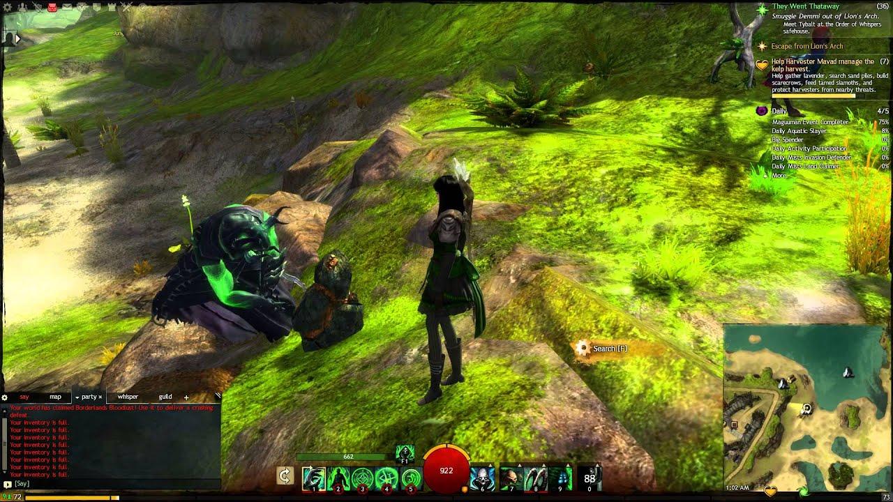 Guild Wars 2 Lich Form Bug - YouTube
