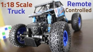 Offroad RC Truck 1:18 Scale UNBOXING and TEST DRIVE | Hindi |