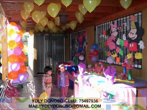 Decoracion cumplea os youtube for Decoracion de puertas para cumpleanos