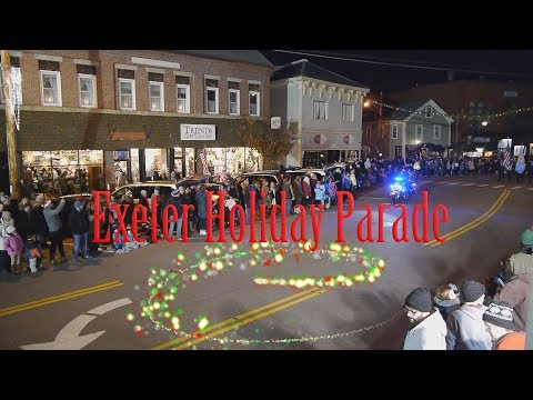 2017 Exeter , NH 60th Annual Holiday Parade
