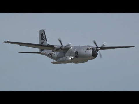 Transall C-160D Flying Display Luftwaffe Penzing Airbase German Air Froce 51+01 Special Livery