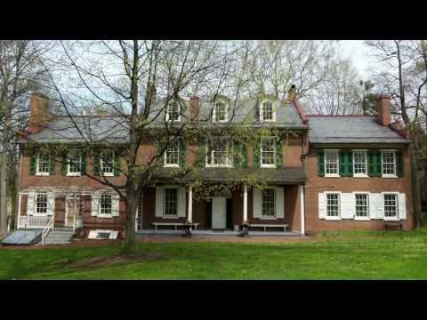 President Buchanan home - Wheatland in Lancaster, PA
