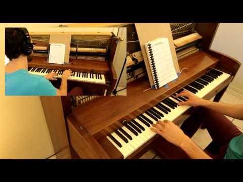 Blue Christmas piano duet