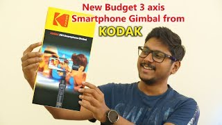 Kodak's New Budget Friendly Affordable 3 axis Smartphone Gimbal Review