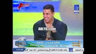 مكالمة مسخرة على الهواء زوج بنت رضا عبد العال
