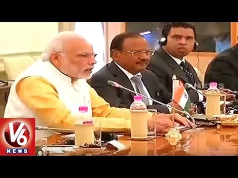 PM Narendra Modi Meets Egypt President Abdel Fattah Al-Sisi | New Delhi | V6 News