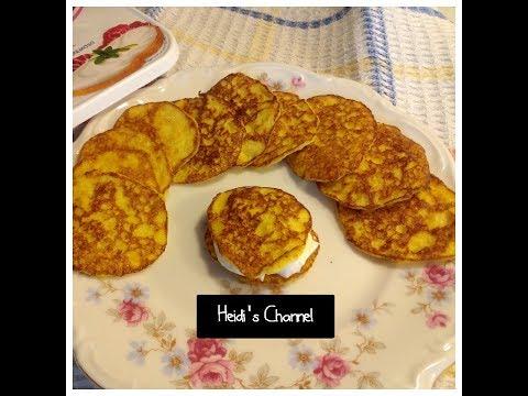 Cachapa venezolana sana/saludable/light/Sin gluten/Tortitas de choclo/maiz sanas