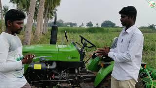 Captain Tamil Review | Captain 250 DI 4WD Tractor | 25HP Mini Tractor Come To Village