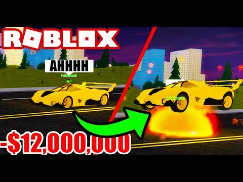TROLLING FANS WITH EXPLODING SUPER CAR! (Roblox Vehicle Simulator) #22