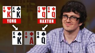 Most BRUTAL SET in a HUGE POT ♠️ Best Poker Clips ♠️ PokerStars