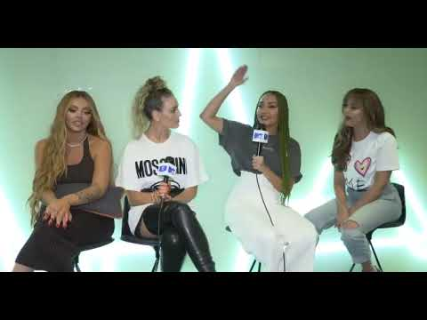 Little Mix interview on MTV EMA 2018