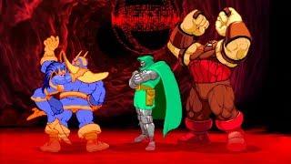 Marvel VS Capcom 2 - Thanos/Doctor Doom/Juggernaut - Expert Difficulty Playthrough