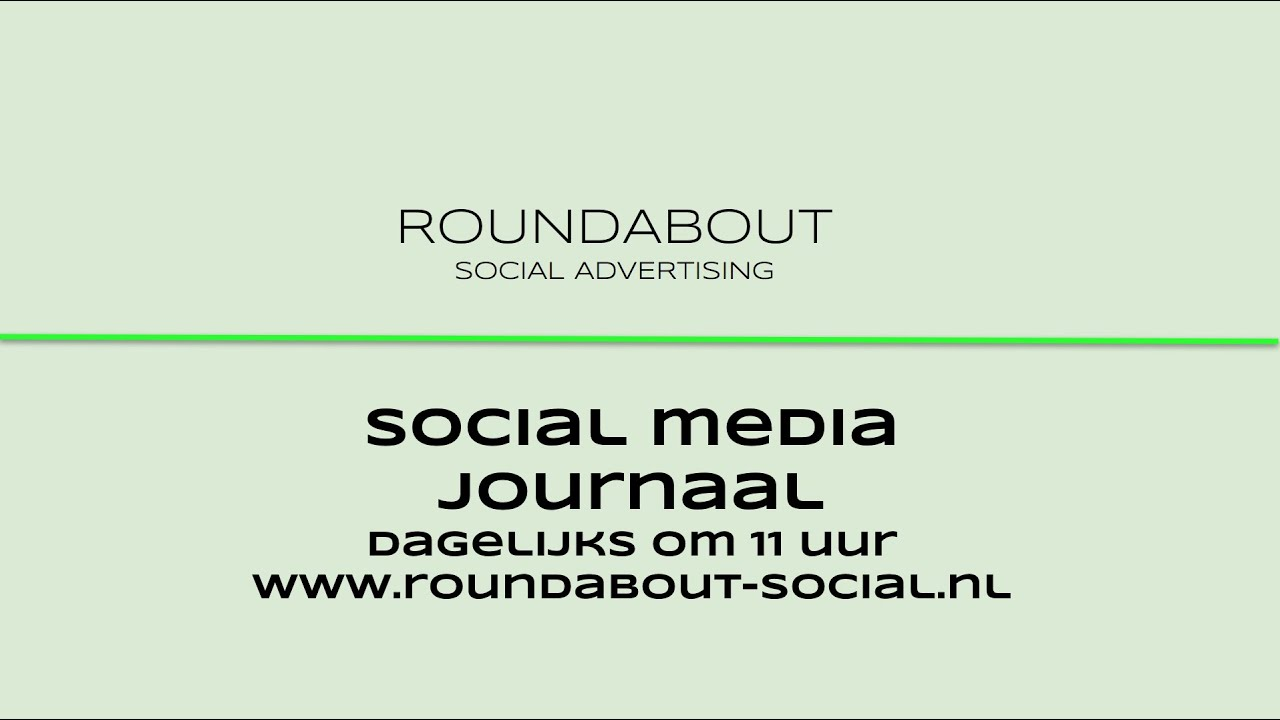 Social media journaal 8 april 2020
