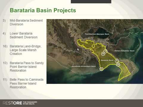 Webinar: Prioritizing Project Selection by the Gulf Restoration Council
