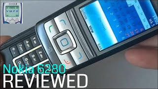 Review of Nokia 6280 Mobile Phone from 2005.