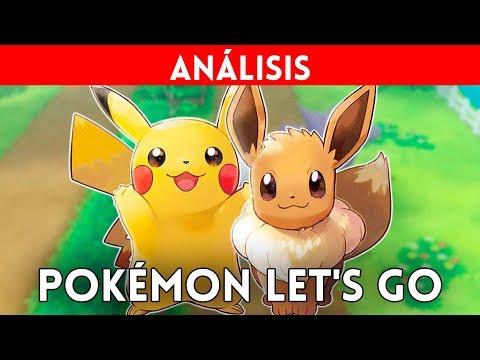 ANÁLISIS POKÉMON LET'S GO Eevee y Pikachu (Nintendo Switch) - Volvemos a KANTO en un fiel REMAKE