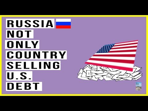 Russia Isn't the Only One Selling U.S. Debt! Which Country Is Selling Their HUGE Supply?