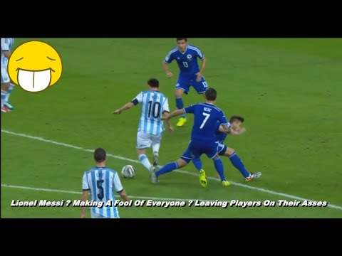 Download Lionel Messi ● Making A Fool Of Everyone ● Leaving Players On Their Asses