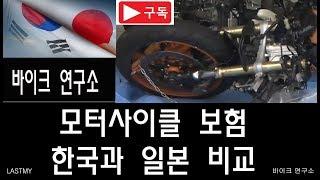 한국과 일본의 모토사이클 보험 비교  바이크연구소 10…