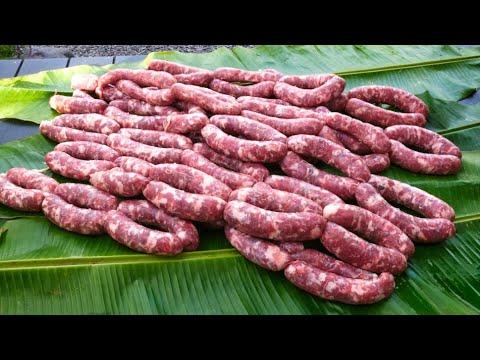 faire-des-saucisses-maison-🌴-make-homemade-sausages