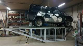 kiikku | Homemade car ramp part 2 Project pics