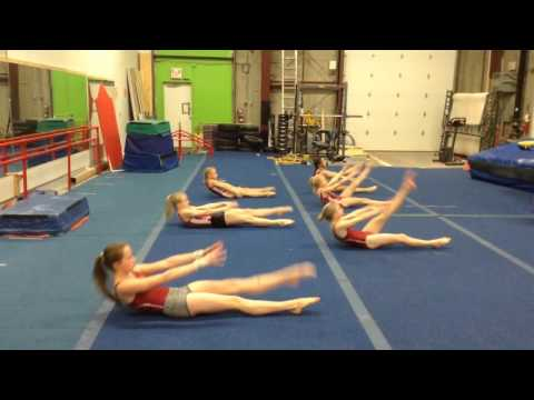 Uptown Abs workout at Gymtastics Gym Club