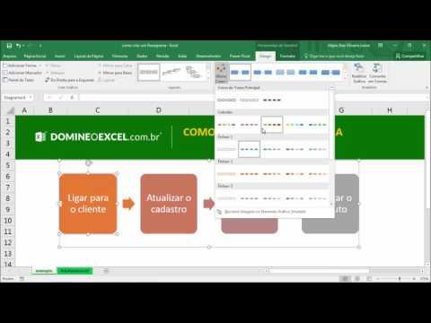 Como montar um fluxograma no Excel - Domine o Excel