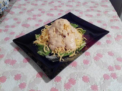 "A delicious salad with salmon and avocado ""Legend""из YouTube · Длительность: 3 мин8 с"