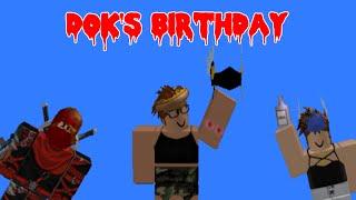 Aniversário do Dok     A ROBLOX machinima
