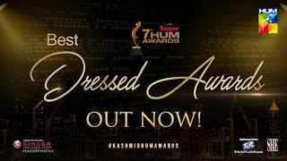 Best Dressed Awards   Kashmir 7th HUM Awards   HUM TV