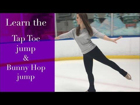 Learn To Jump On Ice Skates! Basic Figure Skating Jumps