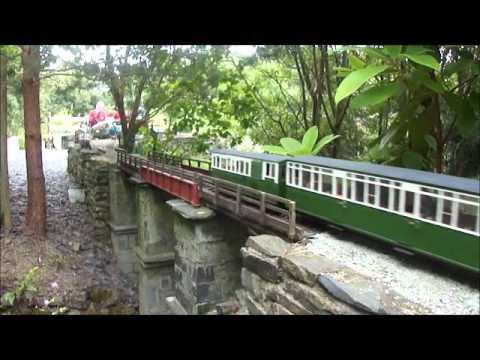 Garden Rails in Wales: The Llechfan Garden Railway and Wigfa and Llanrwst Railway